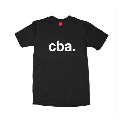 Apathetic Cba T Shirt