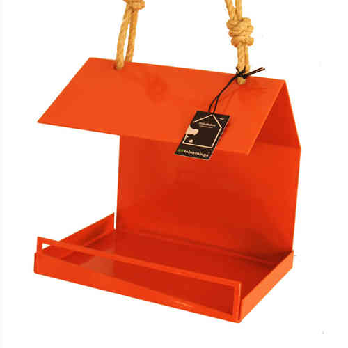 Bauhaus birdfeeder (orange)