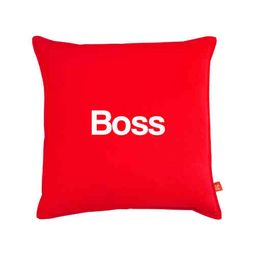 Scouser boss cushion