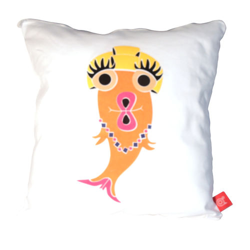 Blank fish trout pout cushion